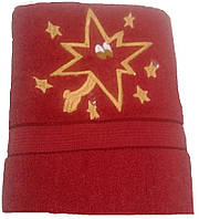 "Полотенце. Банное махровое полотенце ""Звезда"""