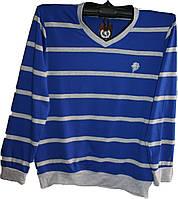 Мужской пуловер норма и батал