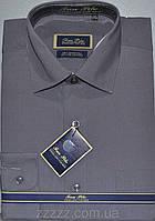 Мужские однотонные рубашки