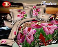 Постельное белье, семейный комплект, ткань ранфорс бязевой группы,  Мирабелла, пододеяльник (2 шт) 150x215