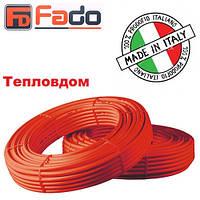 Труба PEX FADO 16х2.0 без кислородного слоя (красного цвета)