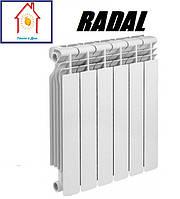 Радиатор алюминиевый секционный RADAL RD-500 80*80