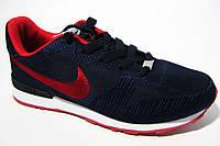 Женские кроссовки Nike, текстиль, синий, Р. 36 37 38 39  41