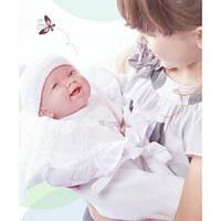 Новорожденная кукла девочка в конверте с аксессуарами Berenguer Boutique, 39 см