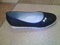 Туфли для девочки 828-13  31-36 синие