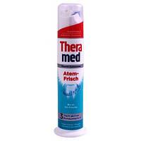 Зубная паста Theramed Свежее дыхание Atem Frisch 100ml с дозатором