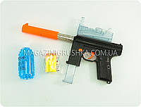 Игровой пистолет-автомат (с мягкими патронами и водными шариками) M206C