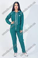 Женский спортивный костюм зеленый