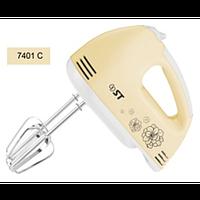 Миксер ST 57-250-01-cream (250 Вт, 7 скоростей, 2 вида насадок)