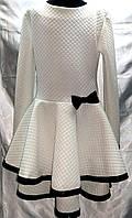 """Трикотажное платье """" леди """" для девочек 6-11 лет."""