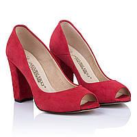 Туфли летние женские Arturo Vicci (открытый носок, с годовым каблук, стильные, элегантные, изысканные)
