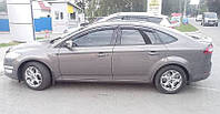 Дефлекторы окон, ветровики Тёмного цвета для Ford Mondeo 2007-2014