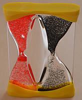 Акриловые песочные часы сувенирные