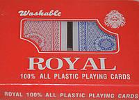 """Пластиковые игральные карты """"Royal"""" (2 колоды)"""