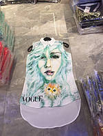 Стильная шифоновая блузка бренд (6 расцветок)