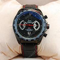 Мужские наручные часы Tag Heuer Grand Carrera Calibre17 Black (механические)