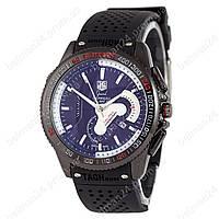 Мужские наручные часы Tag Heuer Carrera Calibre 36 Black Quartz Кварцевые