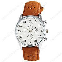 Мужские наручные часы TAG Heuer Carrera SpaceX Кварц Silver/White CL
