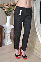 Элегантные классические женские брюки черного цвета