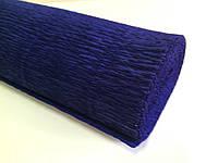 Креп-бумага 555 50см*2,5м Италия синий 074