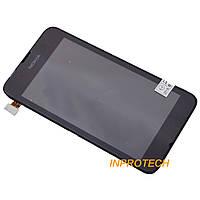 Дисплей (LCD) Nokia Lumia 530, RM-1019 с сенсором и рамкой Black Original