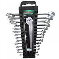 Набор ключей комбинированных на холдере 14 шт. 6-24 мм Toptul