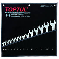 Набор ключей комбинированных 14 шт. 8-32 Hi-Performance Toptul