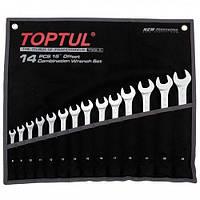 Набор ключей комбинированных 14 шт. 8-24 Hi-Performance Toptul