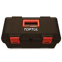 Ящик для инструмента 3 секции (пластик) 445(L)x240(W)x202(H)mm Toptul