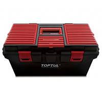 Ящик для инструмента 4 секции (пластик) 556(L)x278(W)x270(H)mm Toptul