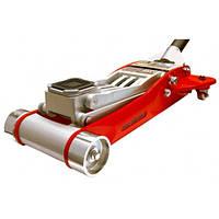 Домкрат подкатной алю миниевый 3, 0т HEAVY DUTY низкопрофильный с двойной помпой 100-465 мм T830002L Torin