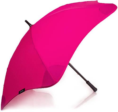 Противоштормовой женский зонт-трость BLUNT (БЛАНТ) Bl-mini-pink розовый