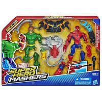 Набор игрушек 2в1 Человек-Паук и Доктор Осьминог (Машерс) - Spider-man vs Doc Ock, Mashers, Avengers, Hasbro