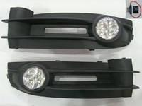 Противотуманки Фольксваген кадди (Volkswagen caddy 2004 - 2010), LED, Турция