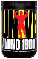 Отличные аминокислоты с супер составом AMINO 1900  110 табл от Universal Nutrition