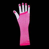 Перчатки Митенки, розовые