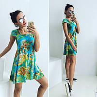 """Стильное молодежное платье мини """" Цветное """" Dress Code"""