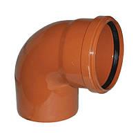 Колено 110/90 наружная канализация (30) - Evci Plastik
