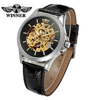 Механические мужские часы скелетоны Winner Lux с автоподзаводом