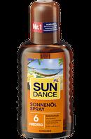 SUNDANCE Sonnenölspray LSF6 200ml - Солнцезащитное масло-спрей для загара, фактор защиты 6,  200 мл