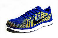 Женские, подростковые кроссовки Nike Free Flyknit, текстиль, салатовые, Р. 36 38 39 40 41