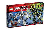 Детский конструктор Lego Ninjago Бой механических титанов 70737