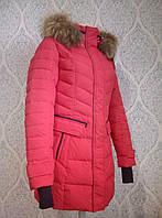 Куртка женская зимняя snowimage g510 красный синий
