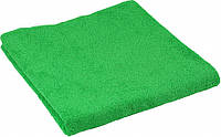 Махровое полотенце зеленое 70х140 см Подарок на 14 октября
