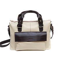 Элегантная женская сумка Vatto светлая,кожаная