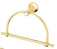 Держатель для полотенца  KUGU Bavaria 304G Gold