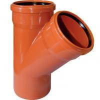 Тройник наружный ПВХ для труб 200/200х45 - Инсталпласт-ХВ