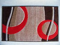 Комплект ковриков для ванной комнаты на резиновой основе - 130-276