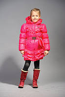 Куртка  деми «Тиффани» для девочек, малина