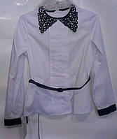 Блузка детская школа